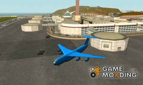Airplanes in airport LS for GTA San Andreas