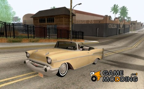 Chevrolet Bel Air 1956 Convertible for GTA San Andreas