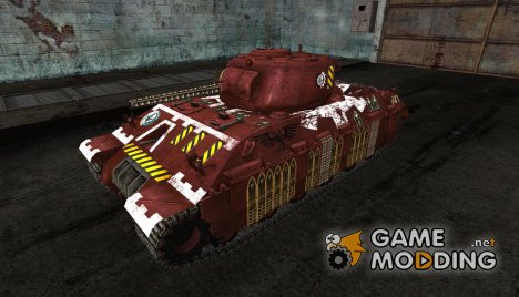 Шкурка для T14 (Вархаммер) for World of Tanks