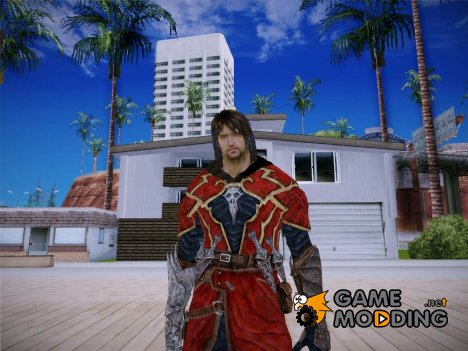 Gabriel Belmont From Castlevania Lord of Shadow for GTA San Andreas