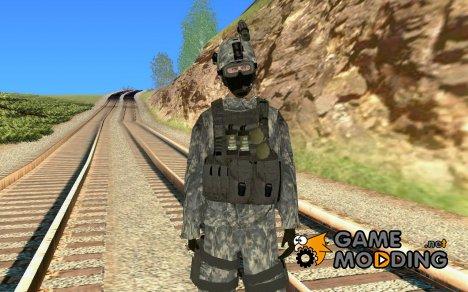 Солдат в городском камуфляже for GTA San Andreas