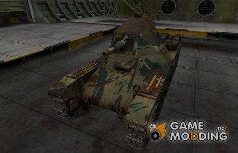 Французкий новый скин для AMX 38 для World of Tanks