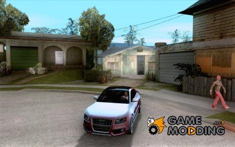 Audi S5 V8 custom 2008 для GTA San Andreas