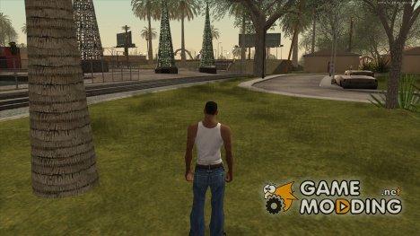 Копия оригинальной травы for GTA San Andreas