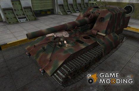 Ремоделлинг для арты GW-E для World of Tanks