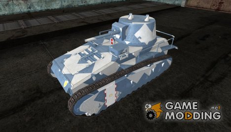 Шкурка для Leichtetraktor for World of Tanks