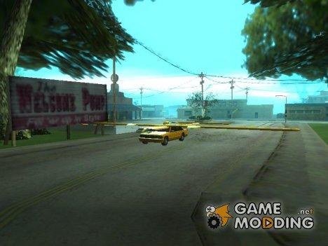Крылатое такси для GTA San Andreas