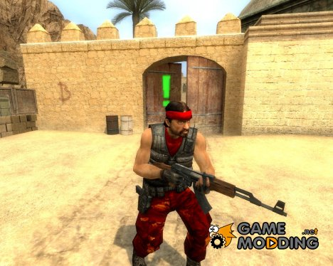 Red Guerilla Reskin for Counter-Strike Source