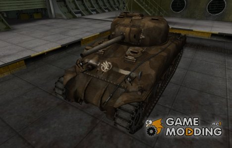 Скин в стиле C&C GDI для M4 Sherman для World of Tanks