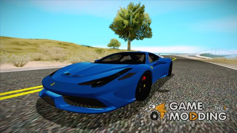 2015 Ferrari 458 Speciale для GTA San Andreas