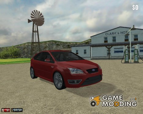 Ford Focus ST 2007 для Mafia: The City of Lost Heaven