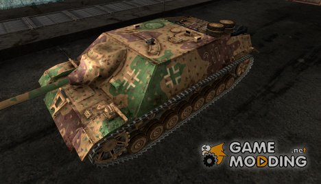 Шкурка для JagdPz IV №35 for World of Tanks
