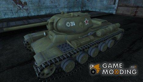 Шкурка для КВ-13 для World of Tanks