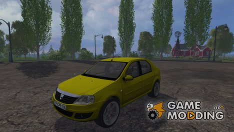 Dacia Logan for Farming Simulator 2015
