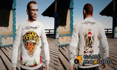 Свитер Ed Hardy for GTA 4