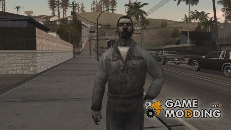 Zombie Worker for GTA San Andreas