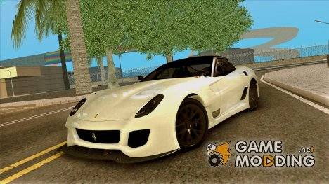 Ferrari 599XX Evolution для GTA San Andreas