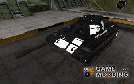 Зоны пробития WZ-131 for World of Tanks