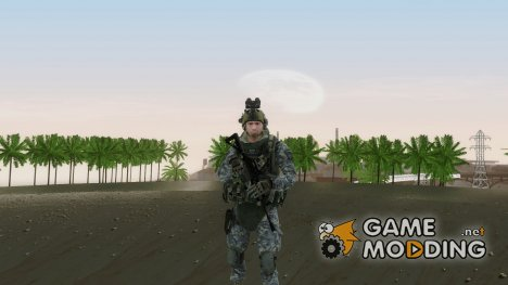Modern Warfare 2 Soldier 5 для GTA San Andreas