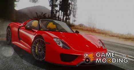 Porsche 918 Spyder 2013 for GTA San Andreas