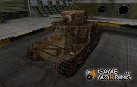 Шкурка для американского танка M2 Medium Tank для World of Tanks