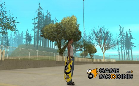 Skateboard Skin 2 for GTA San Andreas