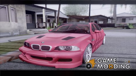 BMW E46 M3 GTR 2005 for GTA San Andreas