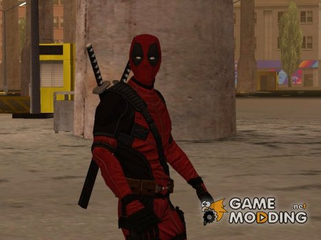 Deadpool The Movie для GTA San Andreas