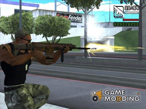 Элитный FN SCAR-H for GTA San Andreas