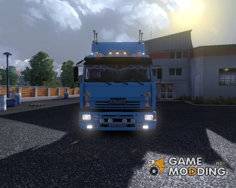 КамАЗ 5460 v5.0 for Euro Truck Simulator 2