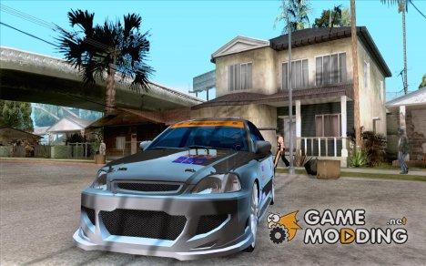 Honda Civic Tuned (исправленная) for GTA San Andreas