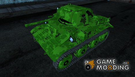 Шкурка для Tetrarch Mk.VII for World of Tanks