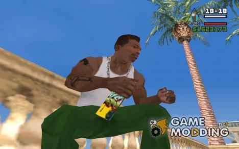 Новый балончик с краской для GTA San Andreas