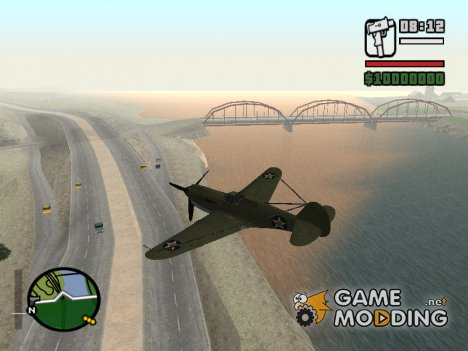 P-40 for GTA San Andreas