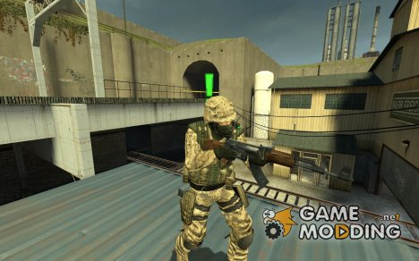 USMC Marine 3.0 Pack for Counter-Strike Source