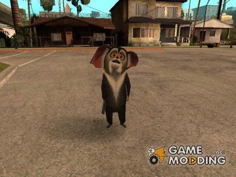 Морис из Мадагаскара для GTA San Andreas