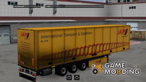 Czech Company Japo Trailer для Euro Truck Simulator 2