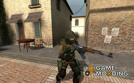 Urban_woodland camo для Counter-Strike Source