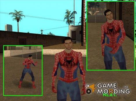 Питер Паркер для GTA San Andreas