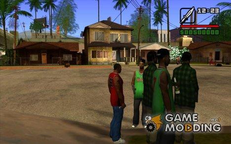 Остановка времени for GTA San Andreas