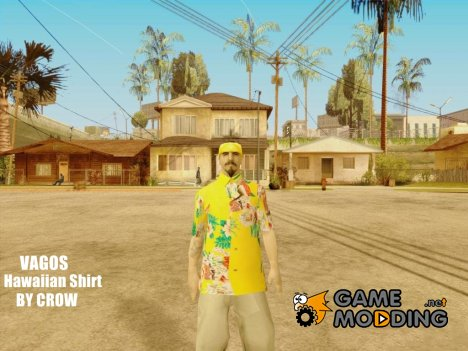 Vagos in hawaiian shirt для GTA San Andreas