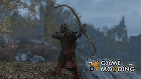 LOTR - Galadhrim Bow and Arrows for TES V Skyrim
