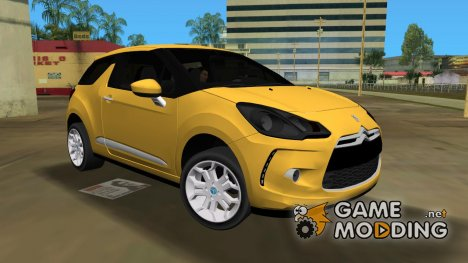2011 Citröen DS3 BETA для GTA Vice City