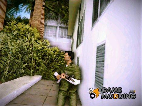 Томми в одежде Тревора в костюме грабителя (GTA V) для GTA Vice City