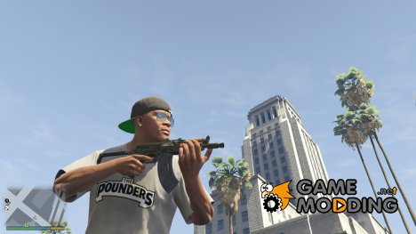 AK-74u 0.1 for GTA 5