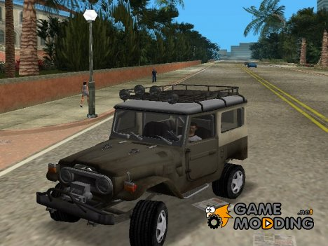 Toyota Land Cruiser FJ40 for GTA Vice City