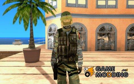Скин бойца Альфы для GTA San Andreas