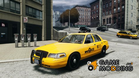 Ford Crown Victoria 2003 v.2 Taxi для GTA 4