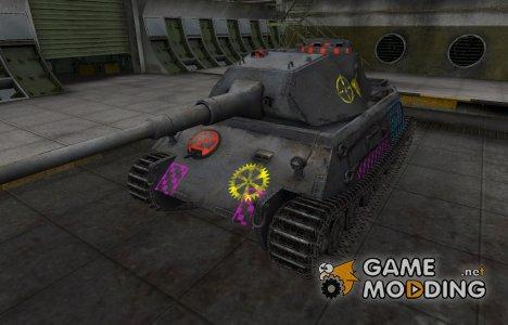 Качественные зоны пробития для VK 45.02 (P) Ausf. A for World of Tanks