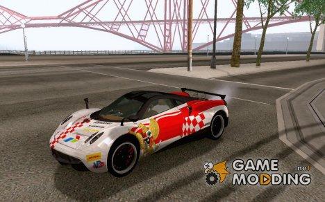 Pagani Huayra Special 17 Agustusan для GTA San Andreas